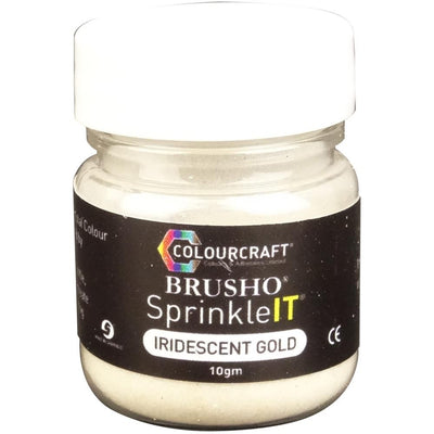 Brusho Sprinkleit - Iridiscent Gold (ships around June 15)
