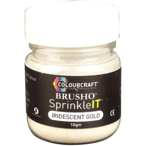 Brusho Sprinkleit - Iridiscent Gold