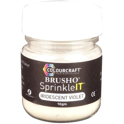 Brusho Sprinkleit - Iridiscent Violet (ships around June 15)