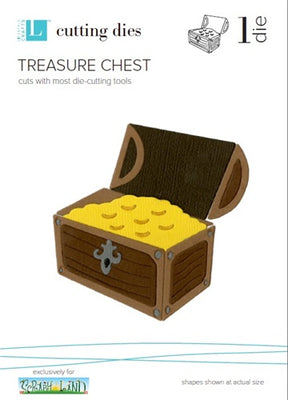 Quickutz - 4 x 4 - Treasure Chest