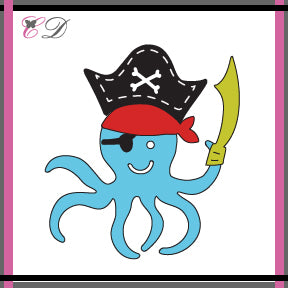 Cheapo Dies - Pirate Octopus