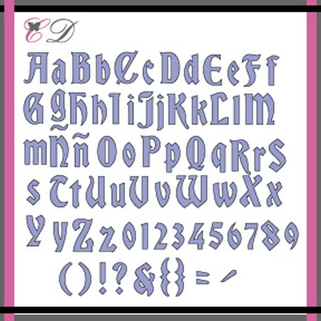 Cheapo Dies - Font - Haunted