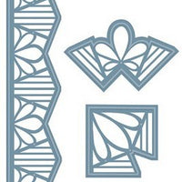 Sue Wilson Designs - Indian Ocean Collection - Border & Corners