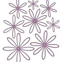 Sue Wilson Designs - Finishing Touches - Delicate Daisies - Open Petals