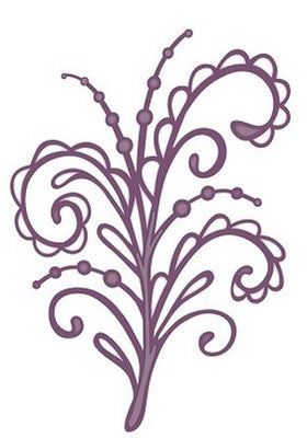 Sue Wilson Designs - Beaded Swirl Flourish