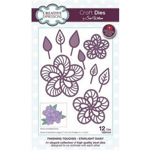 Sue Wilson Designs - Finishing Touches Collection  - Starlight Daisy