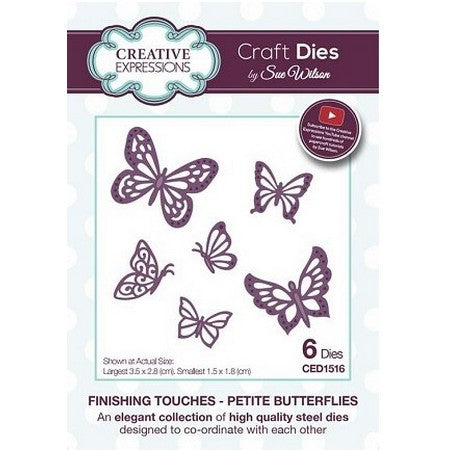 Sue Wilson Designs - Finishing Touches Collection  - Petite Butterflies