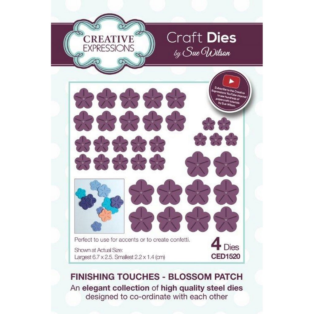 Sue Wilson Designs - Finishing Touches Collection - Blossom Patch