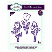 Sue Wilson Designs - Finishing Touches Collection - Elegant Flower Trio