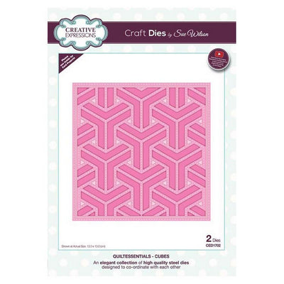 Sue Wilson Designs - Quiltessentials Collection - Cubes