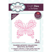 Sue Wilson Designs - Filigree Artistry Collection - Beautiful Butterfly