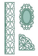 Sue Wilson Designs - Austrian Collection - Corner, Border, & Tags