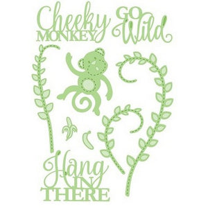 Sue Wilson Designs - Necessities Collection - Cheeky Monkey