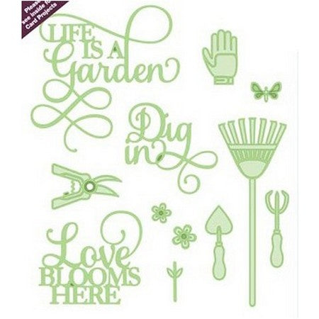 Sue Wilson Designs - Necessities Collection - Life Is A Garden