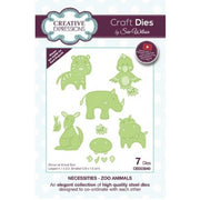 Sue Wilson Designs - Dies - Necessities Collection - Zoo Animals (Ships April 17)
