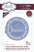 Sue Wilson - Dies - Circle Sayings Collection - Dream