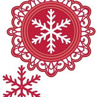 Sue Wilson Designs - Festive Collection - Bold Snowflake Frame