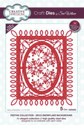 Sue Wilson - Festive Collection - Deco Snowflake Background