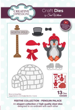 Sue Wilson - Festive Collection - Penguin Palace