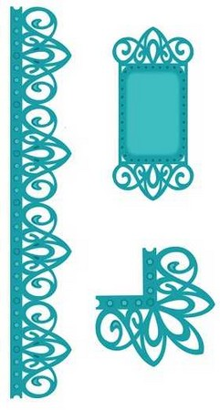 Sue Wilson Designs - New York Collection - Corner, Border, Tag