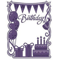 Sue Wilson Designs - Frames & Tags Collection - Birthday Party