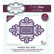 Sue Wilson Designs - Frames & Tags Collection - Betsy