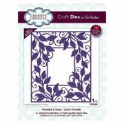 Sue Wilson Designs - Frames & Tags Collection - Leafy Frame