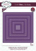 Sue Wilson - Dies - Frames & Tags Collection - Decorative Squares