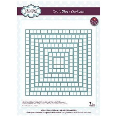Sue Wilson Designs - Noble Collection  - Squared Squares
