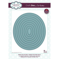 Sue Wilson Designs - Noble Collection - Double Stitched Ovals