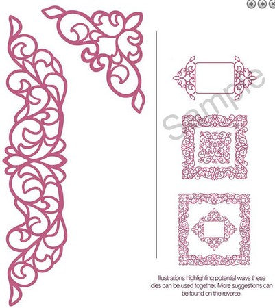 Sue Wilson Designs - Configurations Collection - Elegant Lace Edger