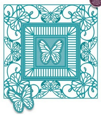Sue Wilson Designs - Butterfly Frame Background