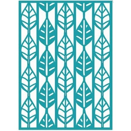 Sue Wilson Designs - Background Collection - Linear Leaf