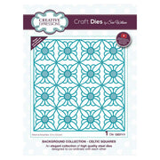 Sue Wilson Designs - Background Collection - Celtic Squares