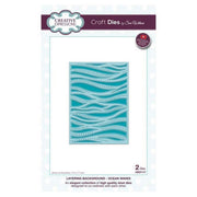 Sue Wilson Designs - Background Collection - Layered Ocean Waves