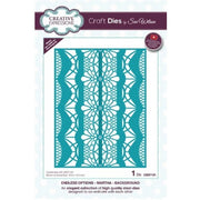 Sue Wilson Designs - Dies - Endless Options Collection - Martha Background (Ships April 17)