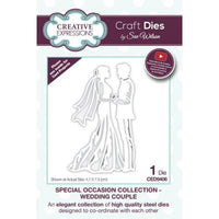 Sue Wilson Designs - Special Occasions Collection - Wedding Couple