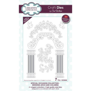 Sue Wilson Designs - Special Occasions Collection - Wedding Arch & Columns
