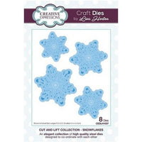 Creative Expressions - Cut and Lift Collection - Snowflakes Craft Die