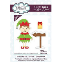 Creative Expressions - Stitched Collection  - Cheeky Elf Craft Die
