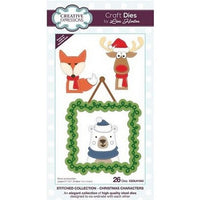 Creative Expressions - Stitched Collection  - Christmas Characters Craft Die