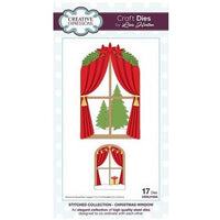 Creative Expressions - Stitched Collection  - Christmas Window Craft Die