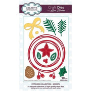 Creative Expressions - Stitched Collection  - Wreath Craft Die