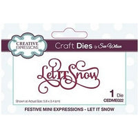 Sue Wilson Designs - Mini Expressions - Let It Snow