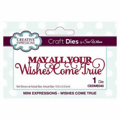 Sue Wilson Designs - Mini Expressions Collection - Wishes Come True