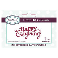 Sue Wilson Designs - Mini Expressions Collection - Happy Everything
