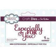 Sue Wilson Designs - Dies - Mini Expressions Collection - Especially For You (Ships April 17)