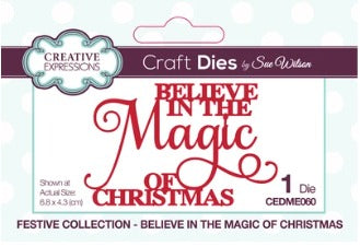 Sue Wilson - Festive Collection - Believe In The Magic Of Christmas