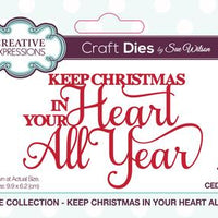 Sue Wilson - Festive Collection - Keep Christmas In Your Heart All Year