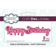 Sue Wilson Designs - Noble Expressions Collection - Happy Birthday